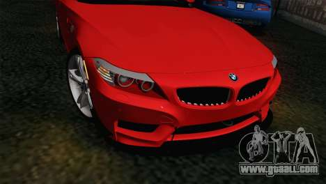 BMW Z4 sDrive28i 2012 Racing for GTA San Andreas right view