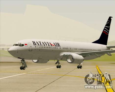 Boeing 737-800 Batavia Air for GTA San Andreas interior