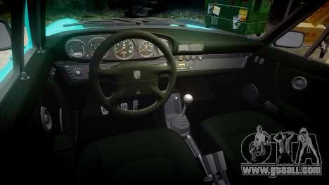 Porsche 911 Carrera 4 1989 for GTA 4 inner view