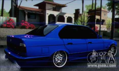 BMW M5 E34 V10 for GTA San Andreas left view