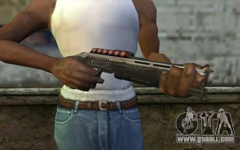 Shotgun from Deadpool for GTA San Andreas third screenshot