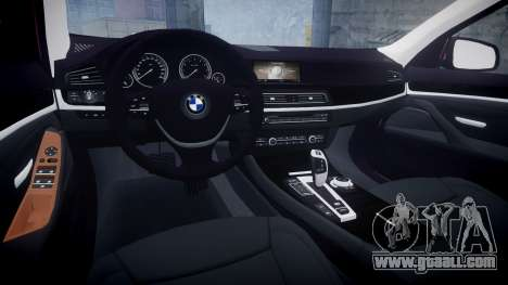 BMW 530d F11 for GTA 4 inner view