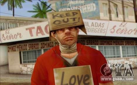 Vagabonds Skin 2 for GTA San Andreas third screenshot
