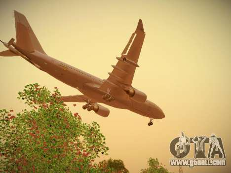 Airbus KC-45A (A330-203) Australian Air Force for GTA San Andreas interior