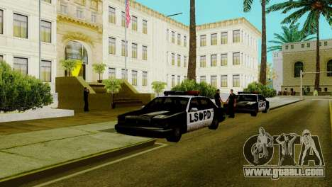 A new transport in LSPD and its revival for GTA San Andreas