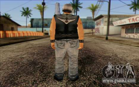 Biker from GTA Vice City Skin 2 for GTA San Andreas second screenshot
