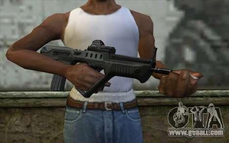 TAR-21 Bump Mapping v1 for GTA San Andreas third screenshot