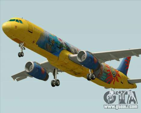 Airbus A321-200 for GTA San Andreas
