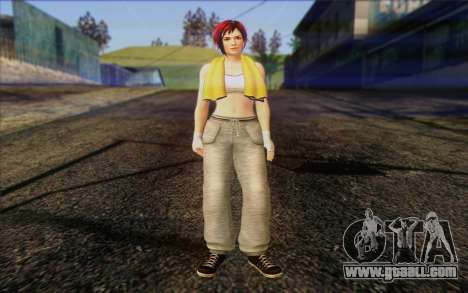 Mila 2Wave from Dead or Alive v18 for GTA San Andreas