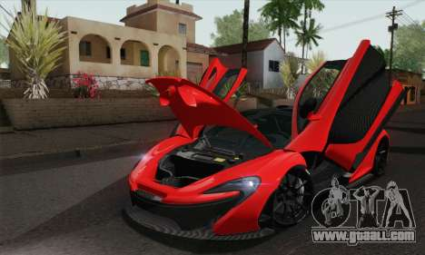 McLaren P1 HQ for GTA San Andreas right view