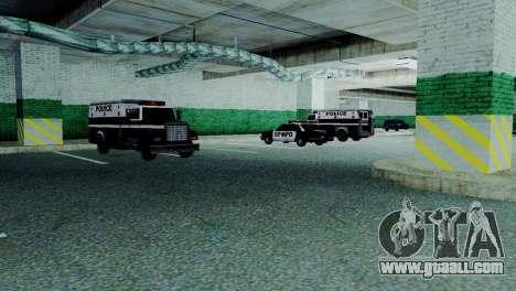 New vehicles in SFPD for GTA San Andreas sixth screenshot