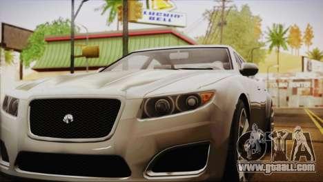 Lampadati Felon (IVF) for GTA San Andreas back left view
