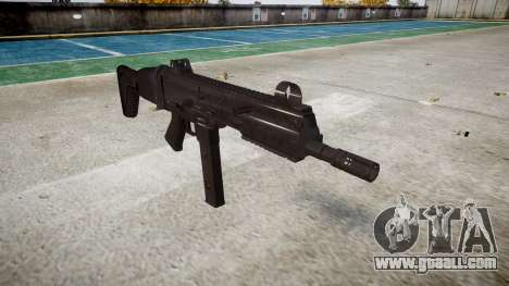 Gun SMT40 with butt icon3 for GTA 4