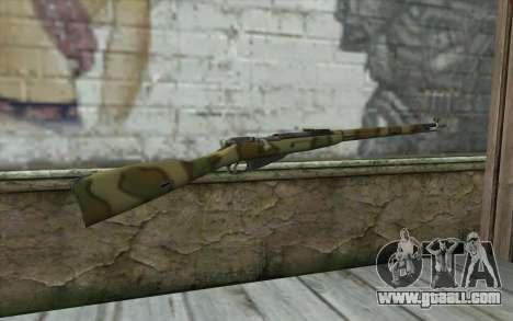 The Mosin-v8 for GTA San Andreas second screenshot