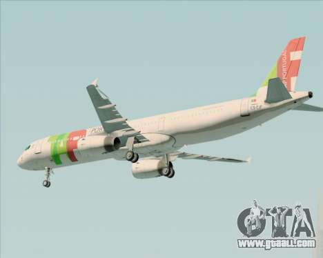 Airbus A321-200 TAP Portugal for GTA San Andreas engine