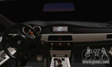 BMW M5 E60 Lumma for GTA San Andreas back left view