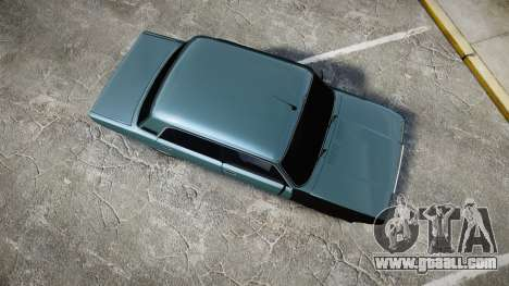 VAZ-2107 hobo for GTA 4 right view
