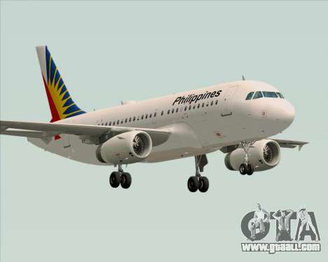 Airbus A319-112 Philippine Airlines for GTA San Andreas