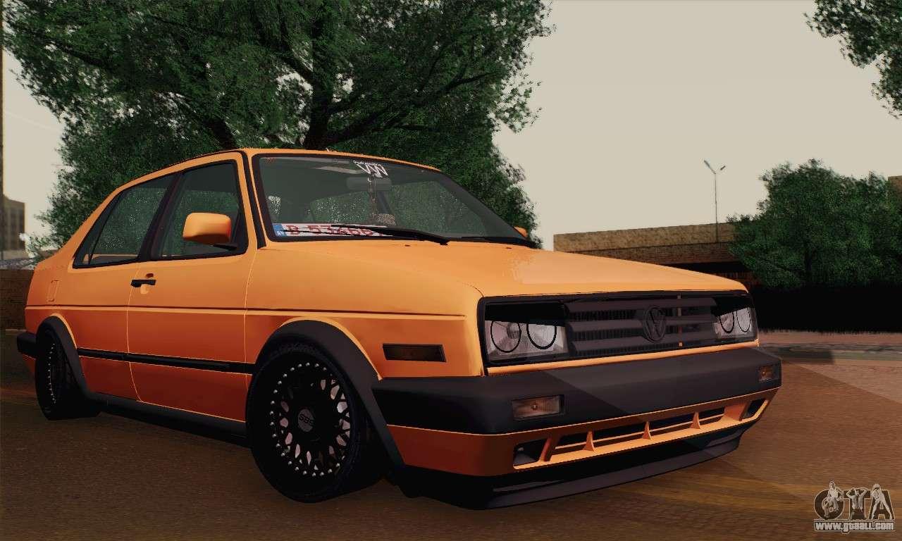 Volkswagen Jetta Mk2 купе for GTA San Andreas
