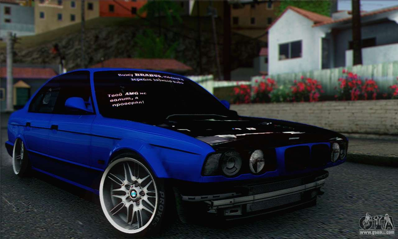 bmw m5 e34 v10 for gta san andreas. Black Bedroom Furniture Sets. Home Design Ideas