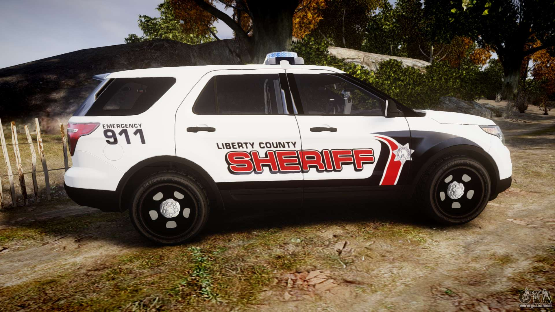 Ford Explorer 2013 Lc Sheriff Els For Gta 4