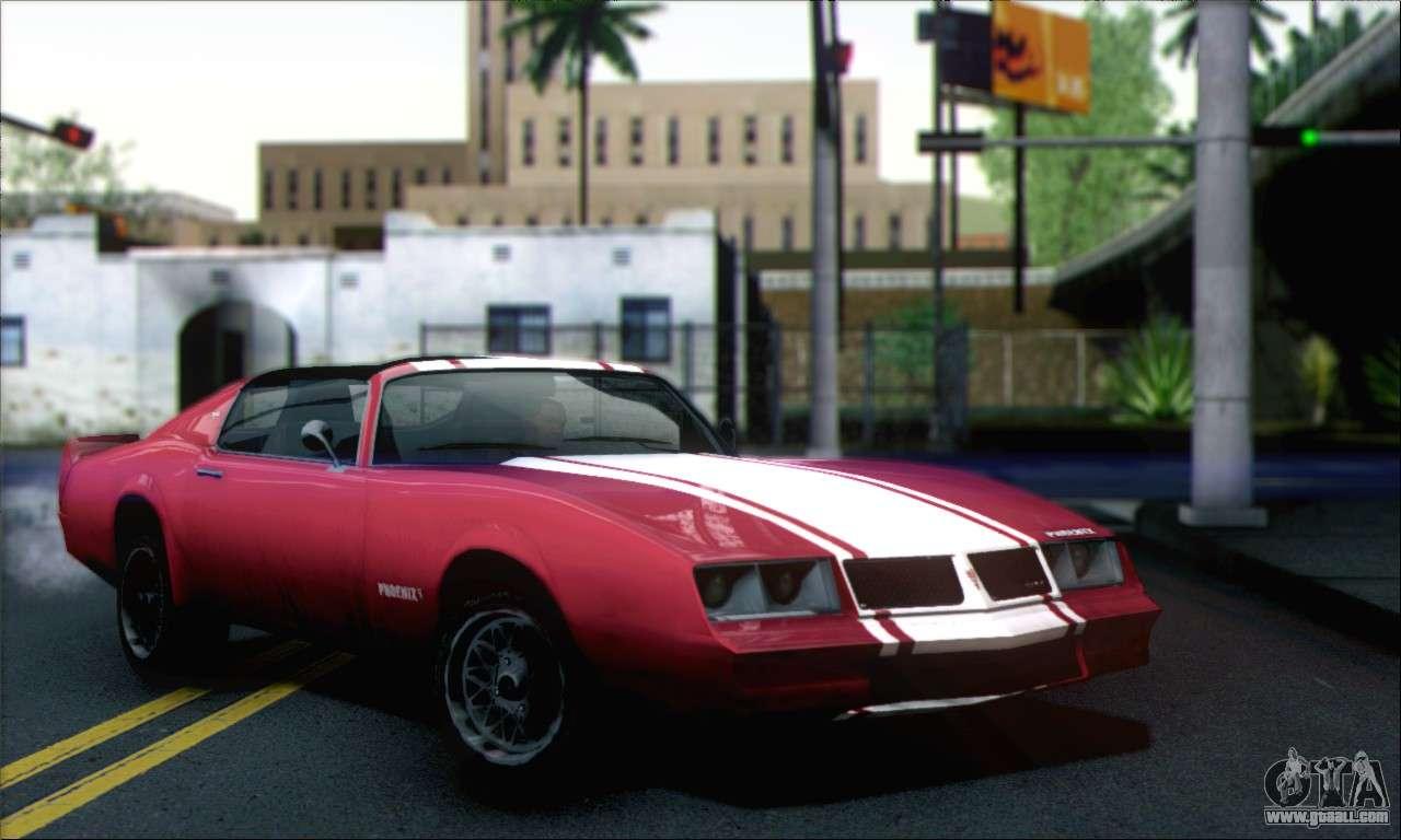 10 Passenger Vehicles >> GTA 5 Phoenix for GTA San Andreas
