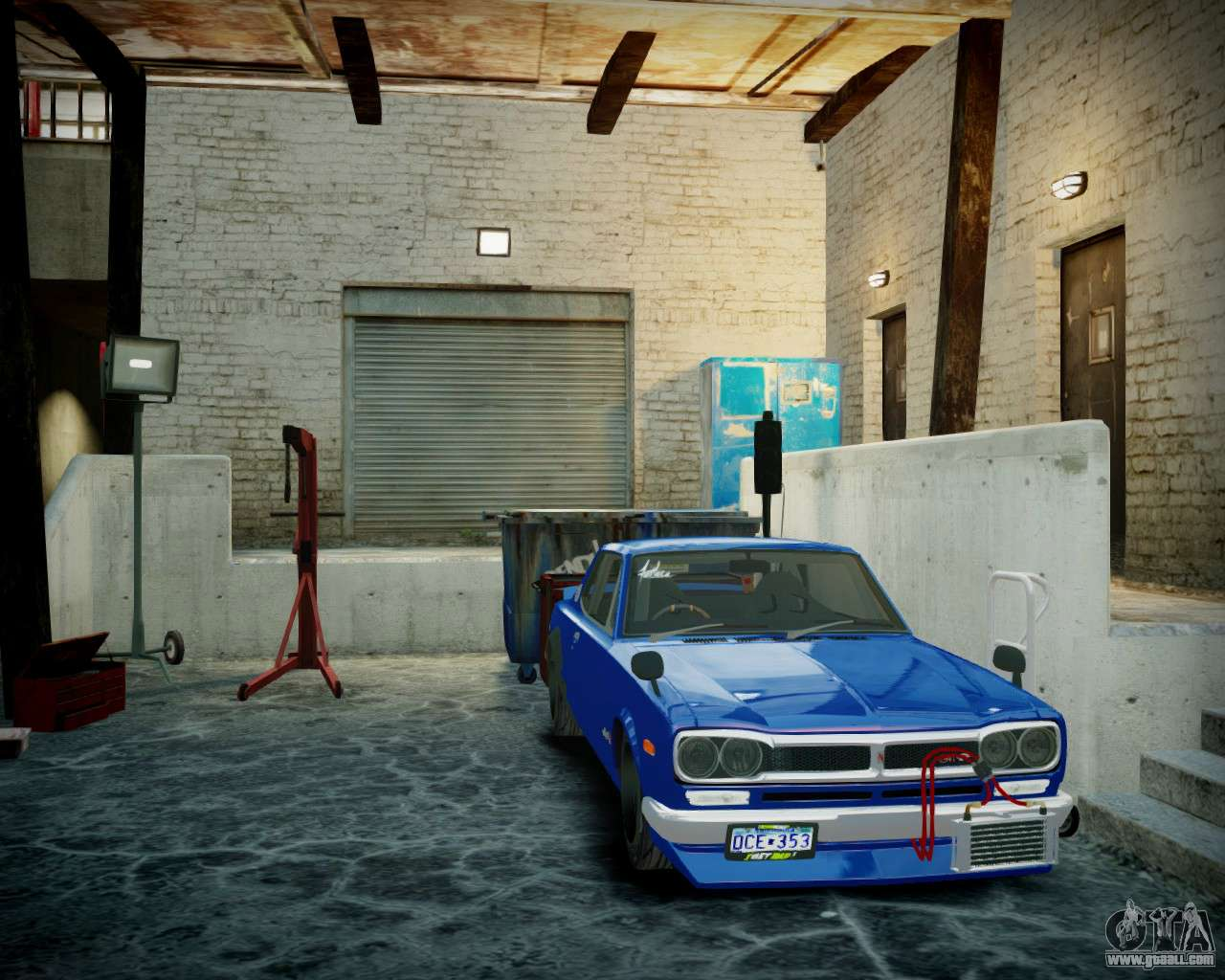 Garage With New Interior Alkaline For Gta 4