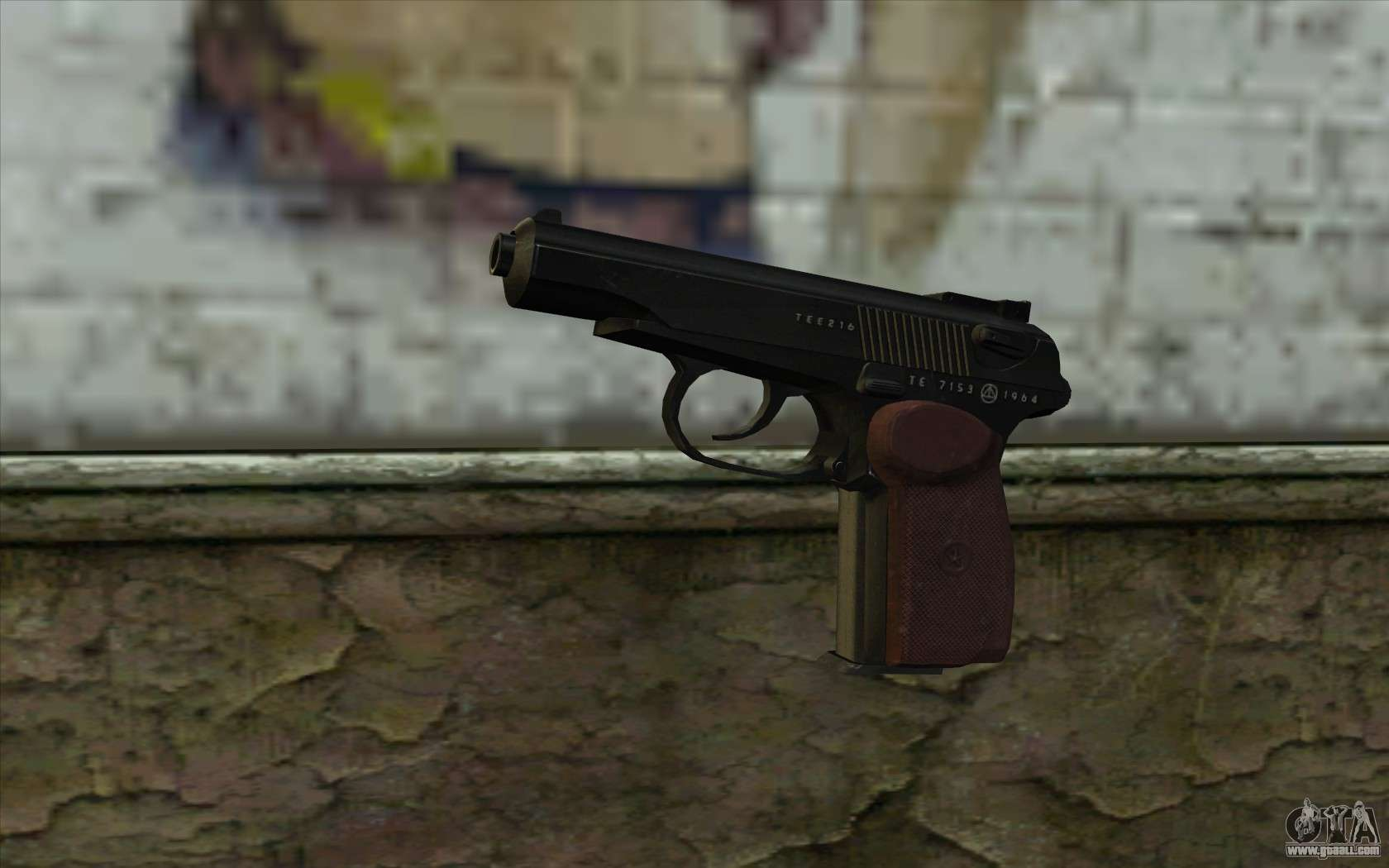 The Makarov Pistol For Gta San Andreas Images, Photos, Reviews