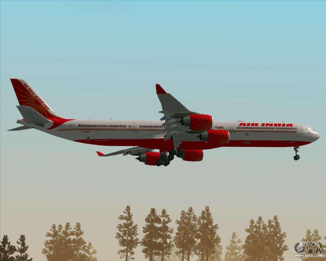 Airbus A340 600 Air India For Gta San Andreas