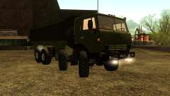 The KamAZ-6350 for GTA San Andreas