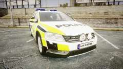 Volkswagen Passat 2014 Marked Norwegian Police for GTA 4
