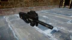 Gun Fabrique Nationale P90 to avoid being silenc