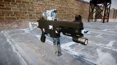 Gun UMP45 Skulls