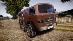 Cricket 6X6 for GTA 4