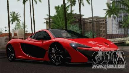 McLaren P1 HQ for GTA San Andreas