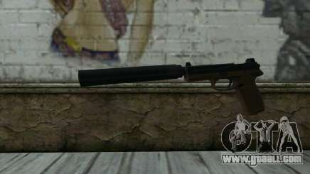 FN FNP-45 With Silencer for GTA San Andreas
