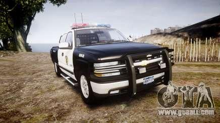 Chevrolet Silverado SWAT [ELS] for GTA 4