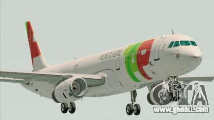 Airbus A321-200 TAP Portugal for GTA San Andreas