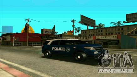 FCPD Ford Explorer 2013 for GTA San Andreas