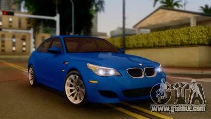 BMW M5 E60 2006 for GTA San Andreas