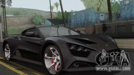 Zenvo ST1 v1.2 Final HD for GTA San Andreas