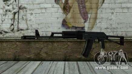 АКС-74 from Paranoia for GTA San Andreas