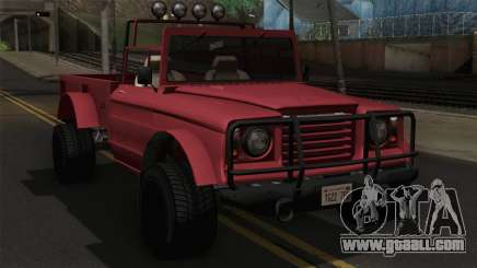 Canis Bodhi V1.0 Clean for GTA San Andreas