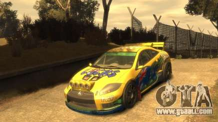 Mitsubishi Eclipse GT Rallycross for GTA 4