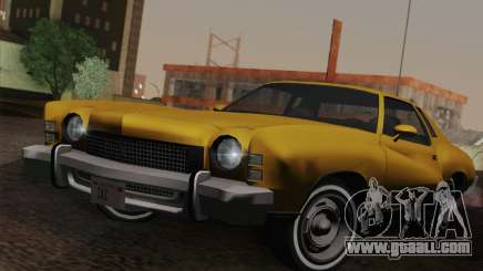 Chevrolet Monte Carlo 1973 for GTA San Andreas