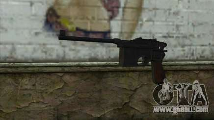 Mauser C96 v2 for GTA San Andreas