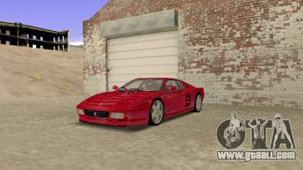 Ferrari 512TR for GTA San Andreas