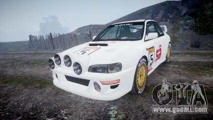 Subaru Impreza WRC 1998 SA Competio v3.0 for GTA 4