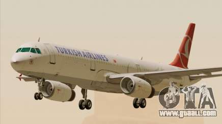 Airbus A321-200 Turkish Airlines for GTA San Andreas