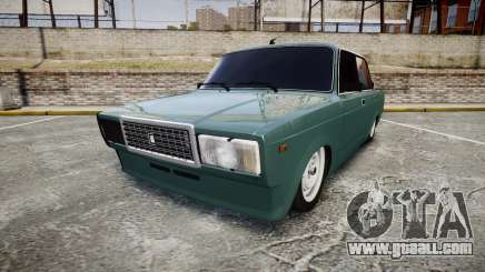 VAZ-2107 hobo for GTA 4